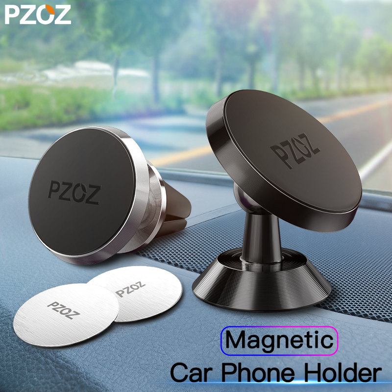 PZOZ Magnetic Car Phone Holder In Car Universal CellPhone Magnet Air Vent Mount