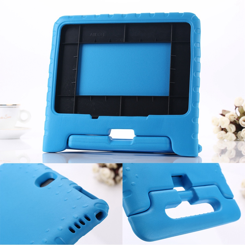 Case for Galaxy Note 10.1 2014 P600 /P601 hand-held Shock Proof EVA full body cover Kids Children Safe Silicone para shell coque