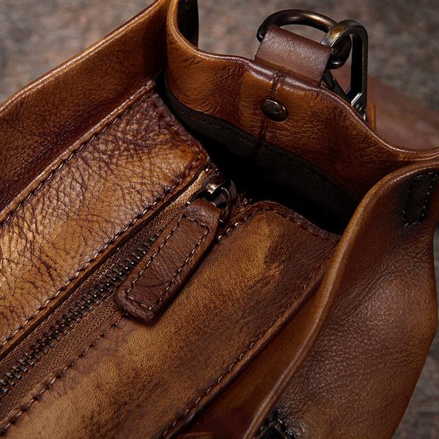 2017 Vintage Handmade Women Handbags Top Handle Cross body Shoulder Bag Big Totes Cow Leather Women Bags Mixed Color