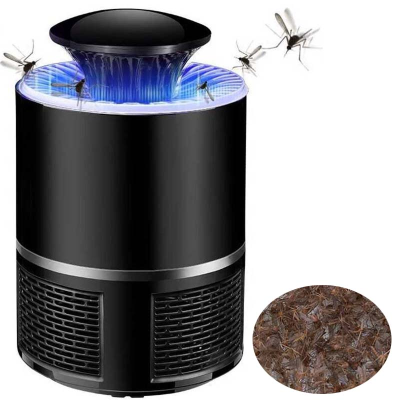 Security & Protection Learned Electric Mosquito Killer Lamp Led Bug Zapper Anti Mosquito Killer Lamp Insect Trap Lamp Killer Home Living Room Pest Control