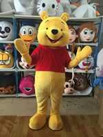 Orso Costume Della Mascotte Animale Costume di Halloween Del Partito Del Vestito Operato