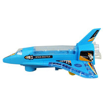 The shuttle electric toy plane Music lighting electric airplanes Children's educational toys model