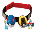 Pokemon Pikachu Clip n Carry Kids Adjustable Poke Ball Belt Xmas Gift Pretend Play Game