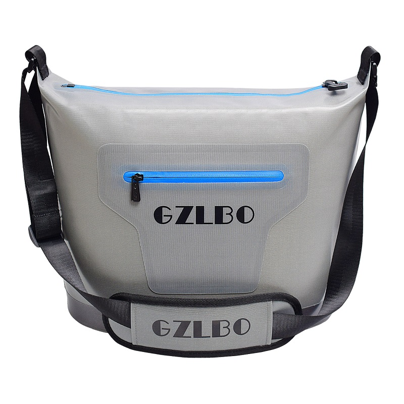 High quality 20 cans Small grey picnic bag soft pack outdoor ice bag Outdoor picnic tool cooler bag for 48 hours ice cooler bag цена 2017
