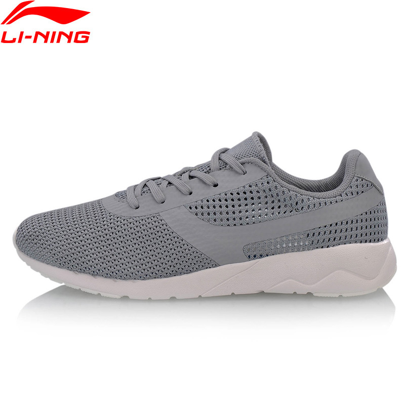 Li Ning Men HEATHER KNIT Lifestyle Shoes Mono Yarn Breathable LiNing Sport Shoes Wearable Leisure Sneakers