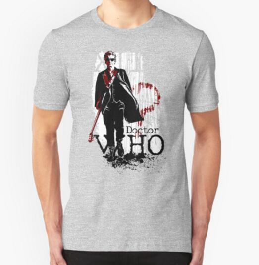 2016 Newest doctor who Printed T shirts mens fashion short sleeve Novelty Cool Tee Tops Clothes