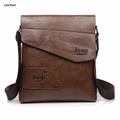 2017 nova famosa marca de couro jeep homens messenger bags moda casual pequenos sacos de ombro para o homem de negócios, homens sacos de viagem ipad