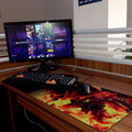 Ultralarge Mouse Pad Grande Teclado Vade Pad Tabla Mat 900*400*4mm League of Legends LOL grande Pad
