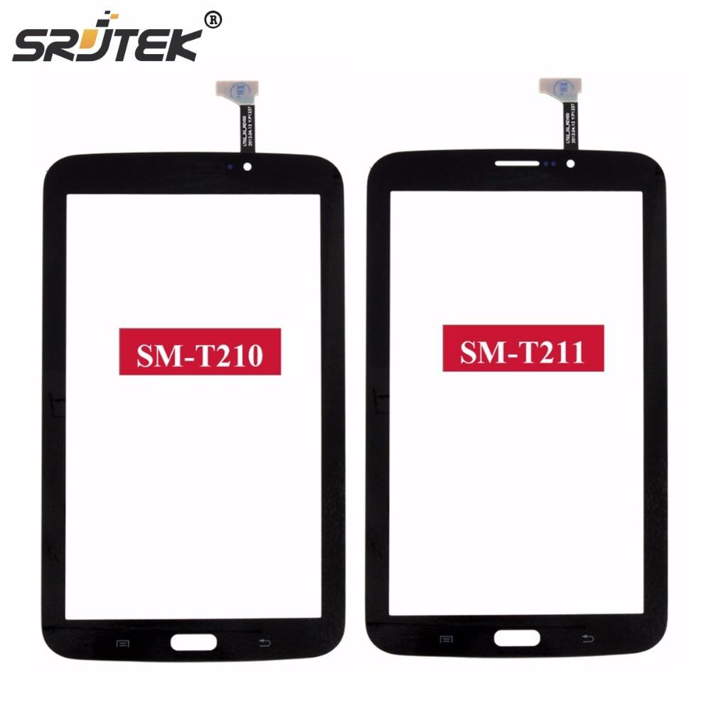 Srjtek 7 For Samsung Galaxy Tab 3 7.0 SM-T210 SM-T211 T210 T211 Touch Screen Digitizer Glass Panel Sensor Tablet PC Replacement стоимость