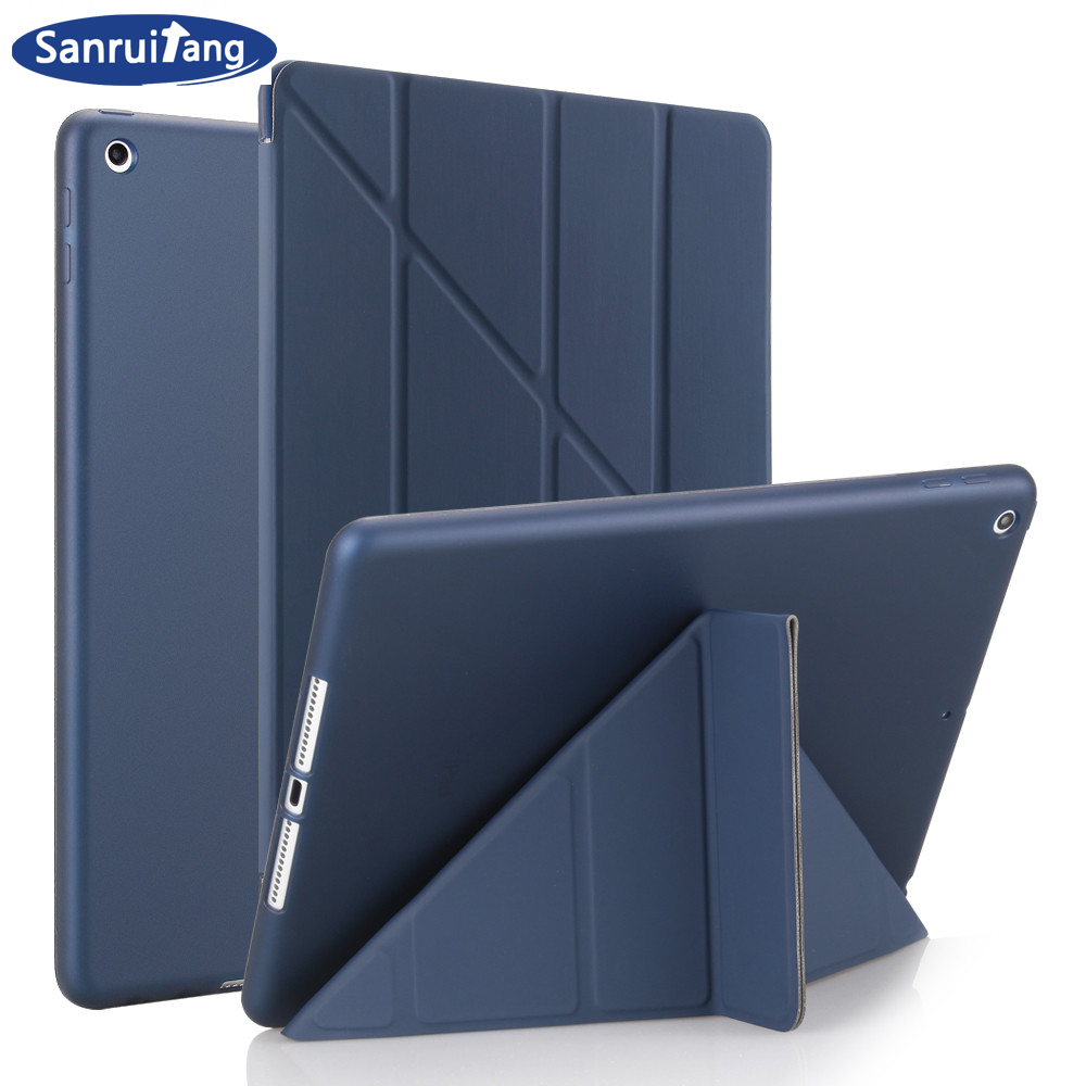 Case for iPad Air 2 Flip Stand case For ipad 9.7 2017 2018 PU leather Full cases for ipad air 1 smart cover for iPad 5 6 funda