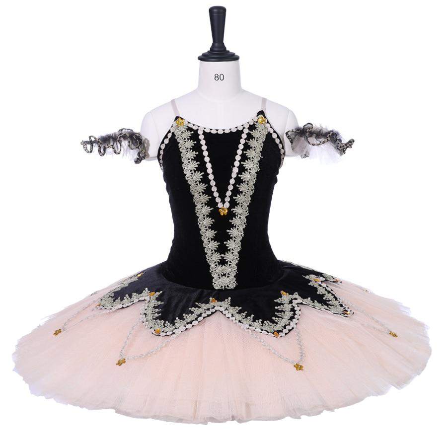 Adult Professional Ballet Tutu Costume Kid Dance Performance GreenBallet Platter