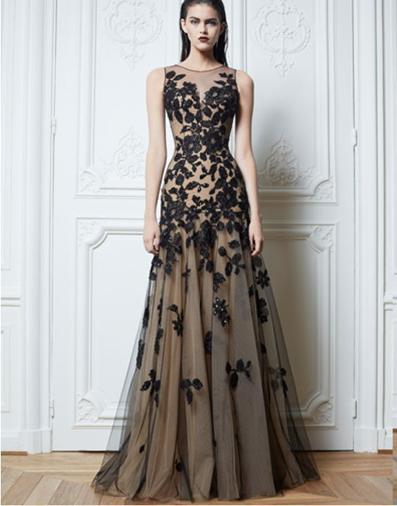 Livraison gratuite 2013 nouveau design vendeur chaud Long Noir à la main Applique Soirée Formelle Cocktail Prom Party Robes De Mariage Robe