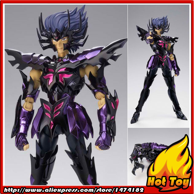 100% Original BANDAI Tamashii Nations Saint Cloth Myth EX Action Figure - Cancer Deathmask Surplice from Saint Seiya original bandai tamashii nations d d panoramation ddp action figure gemini saga the pope s chamber from saint seiya