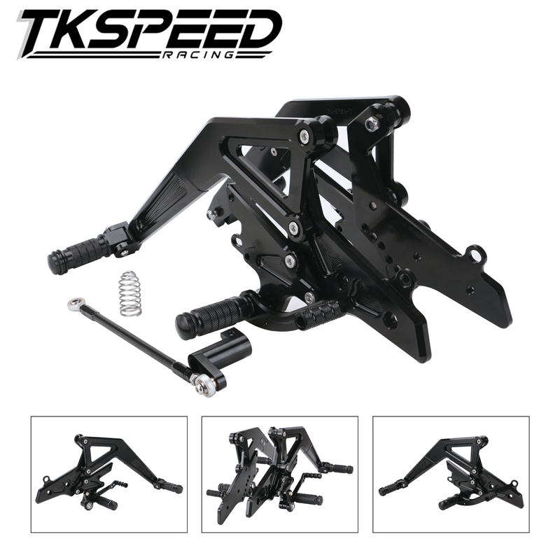 CNC Motor Rearset Rear Set Foot Pegs For Kawasaki Ninja 650 EX650 ER6F ER 6F 6N ER6N 2012-2016 2013 2014 2015
