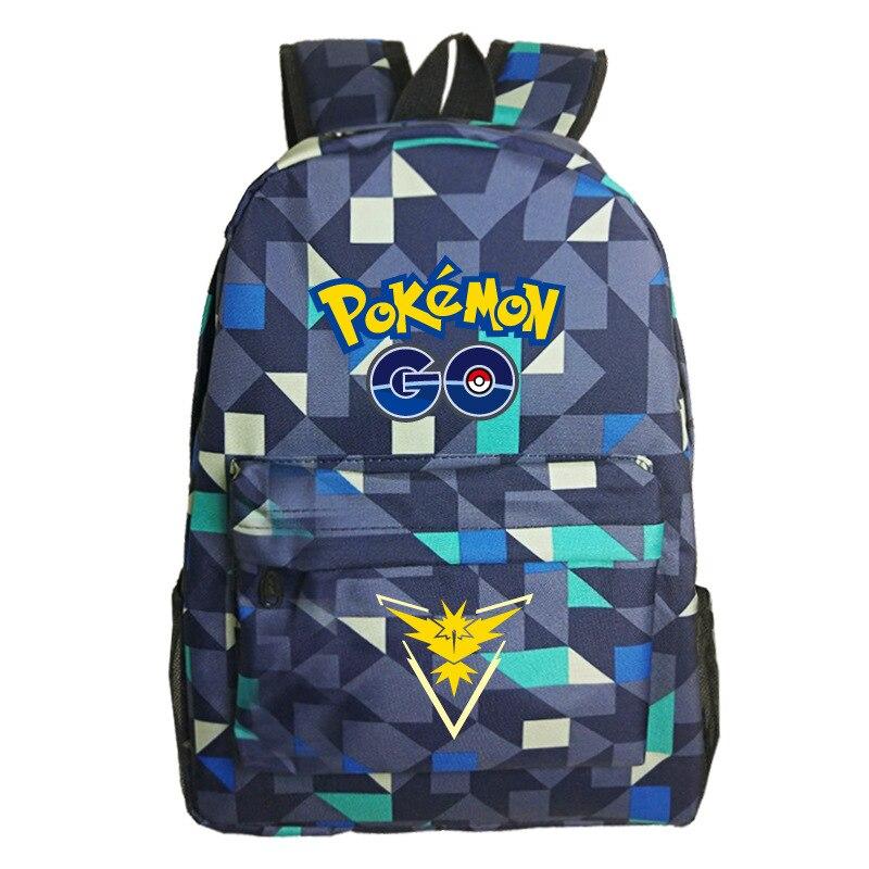 Camo Pokemon Go Backpack 11 Small Pokemon Backpack Game Anime Galaxy Kids Backpack Bts for Girls ...
