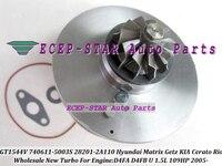 Cartucho de Turbo CHRA GT1544V 740611 782403 740611-5003 s Turbocharger Para HYUNDAI Matrix Getz Para KIA Cerato 1.5L D4FA d4FB 1.6L