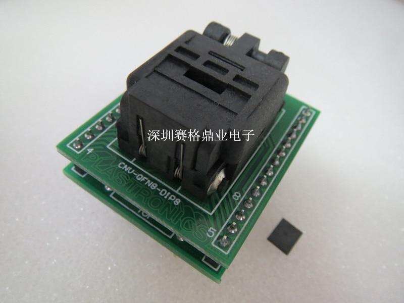 IC test block QFN8/8 DFN8  SON8  MLF8  QFN8 original imports 8 0
