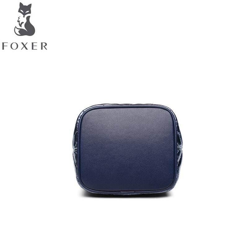 Femelle Mini De Chaîne Foxer Messager Blue Épaule Sauvage Seau À Mode Nouvelle Simple Sac Main 2019 W778rT6Uwq