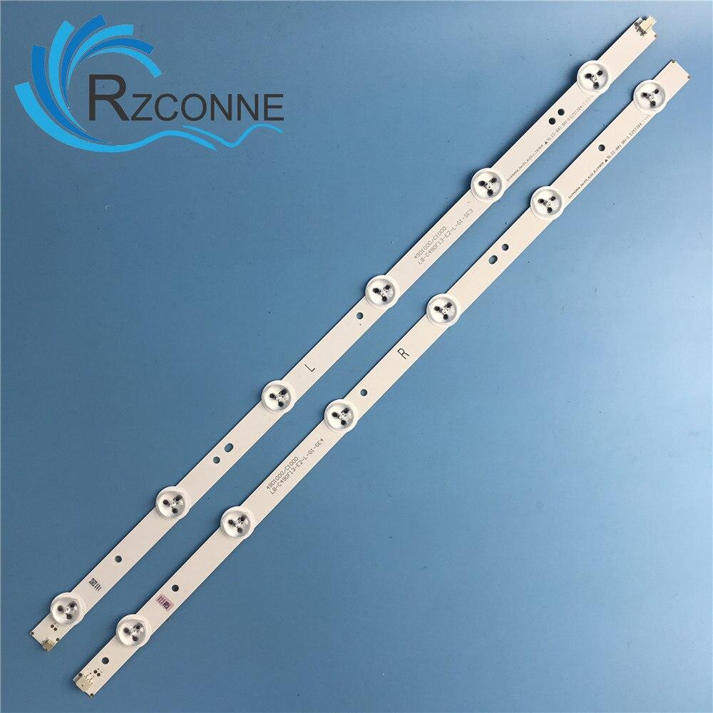 LED Backlight Strip 12 Lamp For LED49C1000n 49D1000/C1000 LB-C490F13-E2-L-G1-LD1 LD2 SE1 SE2 RF-AC490E30-0601R-01 0601L