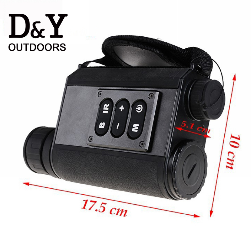 6X32 day and night font b rangefinder b font Laser ranging Night vision digital compass night