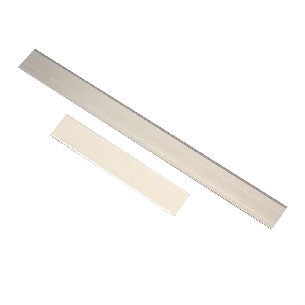 """2 sztuk 4 """"/8"""" ze stali nierdzewnej gliny ostrza tnące Tissue frezy DIY miłośników rękodzieła polimerowego gliny narzędzia tnące spadek"""