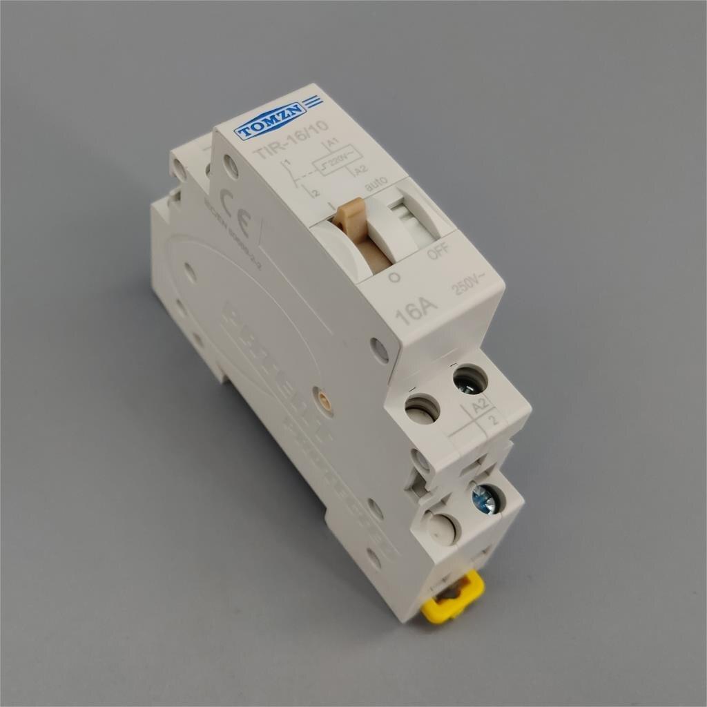 Relais de commande automatique du relais 16A 1NO 220V 50Hz 60HZ de commande d'impulsion électrique de ménage de relais d'impulsion pour le circuit d'éclairage