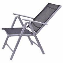 Goplus Set of 2 Patio Folding Beach Chair Adjustable Reclining Indoor Outdoor Garden Aluminum Portable Fishing Chairs HW52027