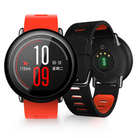 Xiaomi Amazfit Smart Sport Watch 1 34 InchTouch Screen GPS Record Zirconia Ceramics Heart Rate Monitor