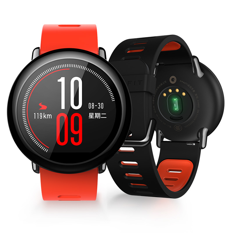 Xiaomi Amazfit Pace Smart Sport Watch 1.34 inch Touch Screen GPS Record Zirconia Ceramics Heart Rate Monitor For Men and Women