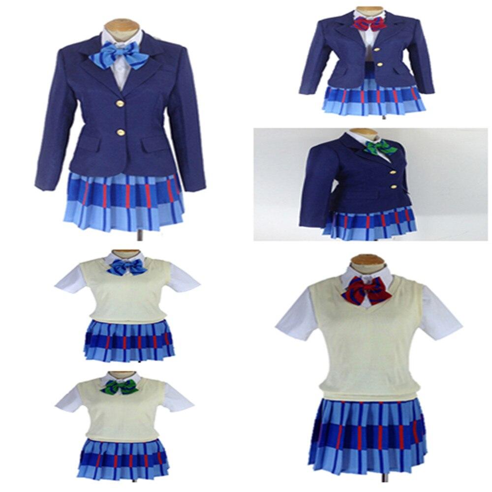Dress up diary baju pelaut - Cgcos Gratis Pengiriman Cosplay Costume Cinta Hidup Kousaka Honoka Sonoda Umi Maki Nishikino Dress Sekolah Seragam
