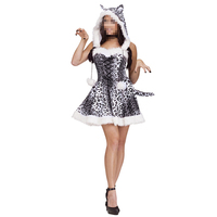 Halloween Animal Costume Sexy Party Costumes Adult Snow Leopard Costume Sexy Halloween Costumes Animal Costumes For