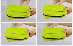 Image 3 - Men Large Waterproof Makeup Bag Male Female Travel Beauty Cosmetic Organizer Case Big Necessaries Make Up women Toiletry Pouch