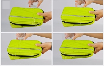 Men large waterproof makeup bag male female travel beauty cosmetic organizer case big necessaries make up women toiletry pouch