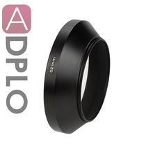 Metal Wide Angle Lens Hood For lens For 37 49 52 55 58 62 67 72 77 86mm filter thread