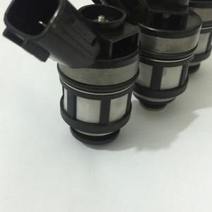 Image 5 - Conjuntos de 6 japonês JS23 1 alta qualidade injector de combustível 16600 38y10 16600 38y11 spray bico fluxo combinado para nissan patrol