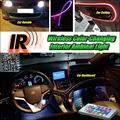 Wireless IR Control Car Interior Ambient 16 Color changing Light DIY Dashboard Light For Volkswagen VW Caddy 2K 2004~2016