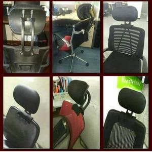 Image 5 - Регулируемый подголовник Офисный Компьютерный поворотный подъемный стул защита шеи Подушка офисное кресло аксессуары бесплатная установка