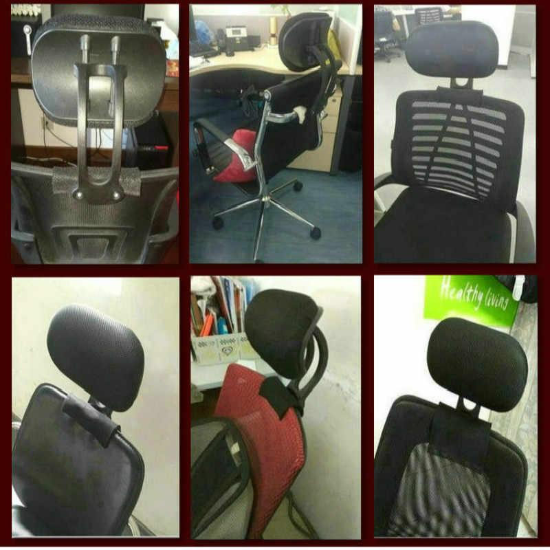 Регулируемый подголовник офисного компьютера поворотный подъемное кресло подушка с защитой для шеи комплектующие для офисных стульев Бесплатная Установка