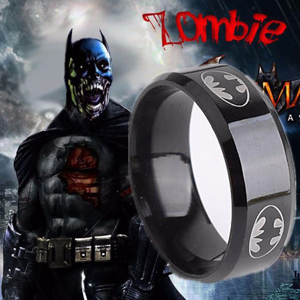 The Lord of the Rings Black Ring Batman