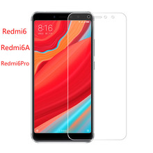 Xindiman 2019 phone cover for xiaomi redmi6 9H 2.5D tempered glass redmi6A screen protector on redmi6pro film