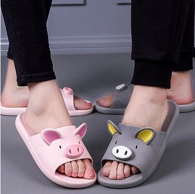 Sandals Slippers Bathroom Female Summer Men/womencartoon Indoor Home New Cute No Couple