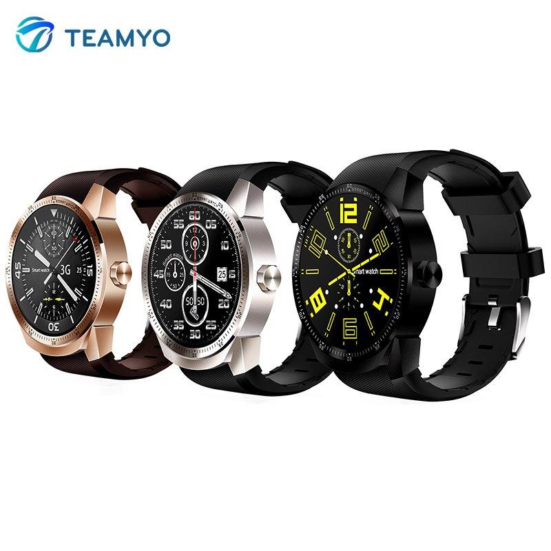 Teamyo K85H smart watch GPS wifi Heart Rate Monitor Fitness Tracker Bracelet Watch Samrtwatch SIM card Wireless net nwaterproof