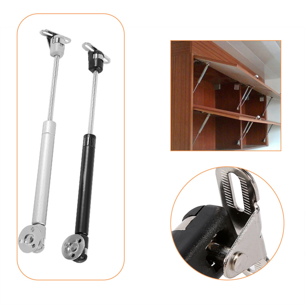 New Copper Door Lift Support Gas Hydraulic Spring Hinge Cabinet Door Kitchen Cupboard Hinges Furniture Hardware 100N 27cm