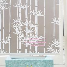 Ventana de Cubierta De Privacidad Films, Hogar Decorativo Esmerilado Autoadhesivas estática Película de Vidrio, Tamaño 60×200 cm