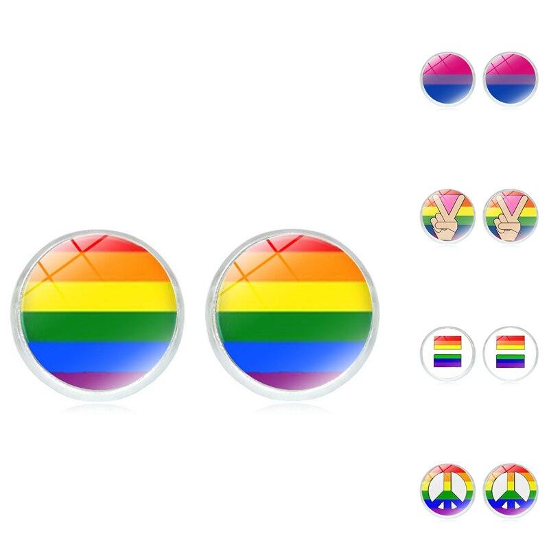 Makeshift Earrings Lifehacking Tutorial Gay Pride Freedom Rings