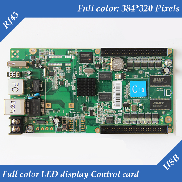 HD-C10 USB+2 Ethernet Port(Can be used as sending card) Asynchronous Video Full Color LED Control CardHD-C10 USB+2 Ethernet Port(Can be used as sending card) Asynchronous Video Full Color LED Control Card