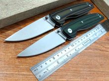 Newest Efeng F33 Bearing folding knife D2 blade G10 handle outdoors camping hunting pocket fruit knives +MMMMMMMMMM