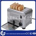 Коммерческий автоматический тостер с одной кнопкой для завтрака  сэндвич-хлебопечки  четыре тостера  делая машину на продажу