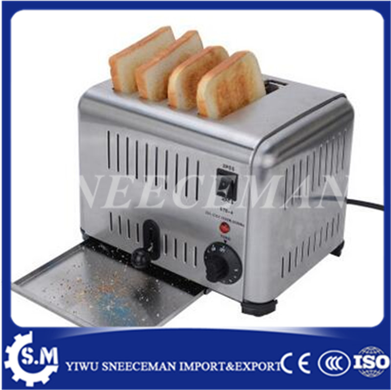 commercial automatic toaster one-button breakfast sandwich bread machine heating four toaster making machine for sale breakfast for champions