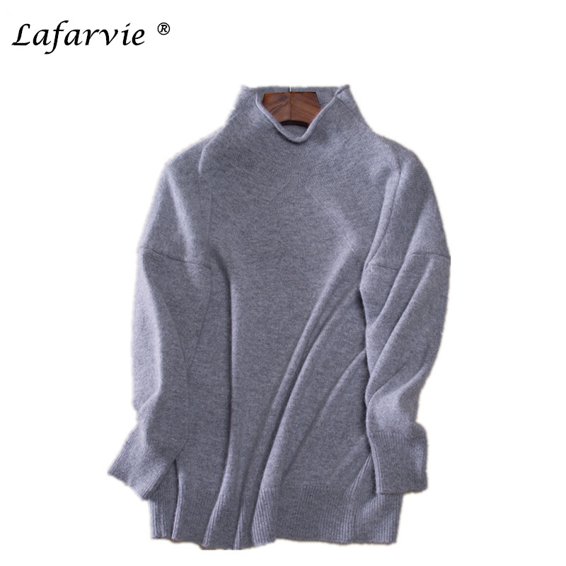 Lafarvie otoño e invierno suéter nuevo jersey de cachemir mujeres versión corean